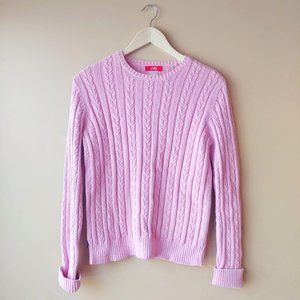 Anne Klein Sport Cable Knit Sweater